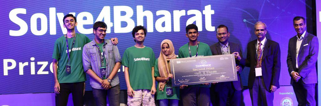1st runnerup solve4bharat