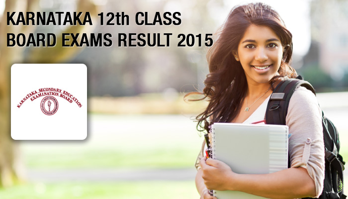 Karnataka 2nd PUC 12th result 2015 on may 17