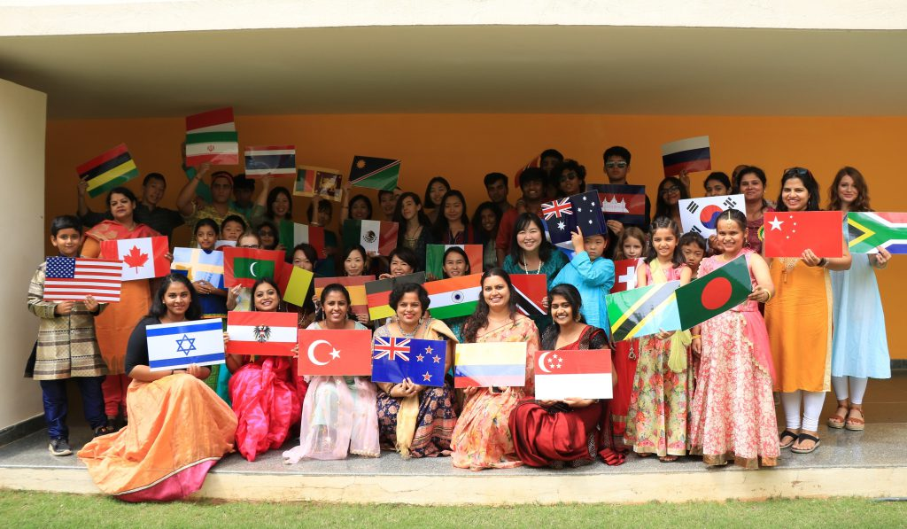 40 Nationalities Celebrate the Festival Of Lights at CIS