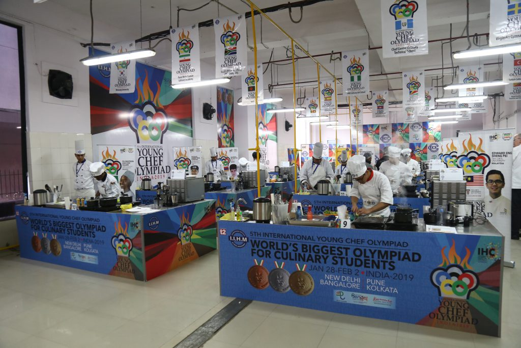 A glimpse of the International Young Chef Olympiad 2019