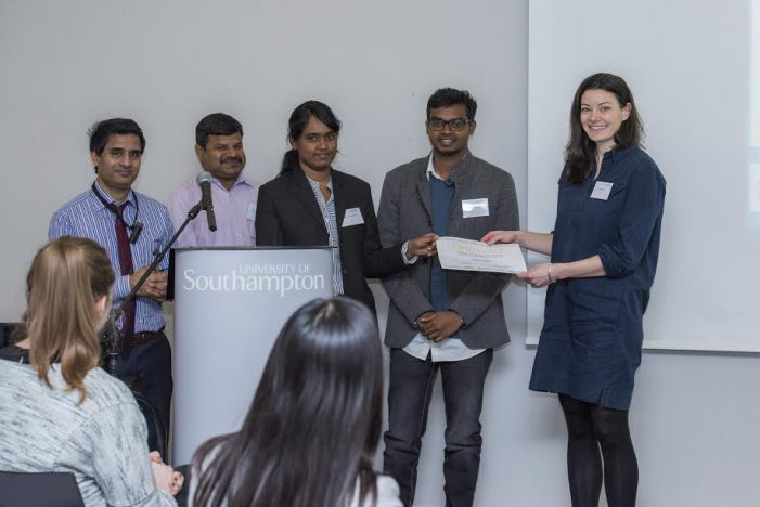Chennai student team bags third place at the UK-India Social Innovation Challenge 2017