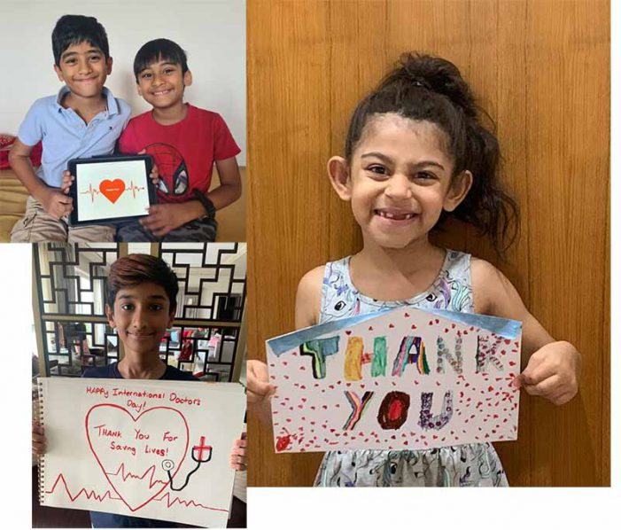 National Doctor's Day – Inspiring messages from Canadian International School to thank the healthcare workers for their efforts
