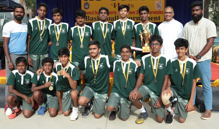 Greenwood High wins Inter School Basketball Championship