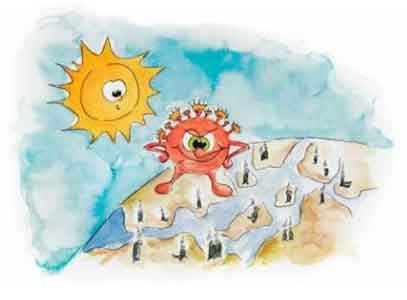 Children's book to help little ones through crisis