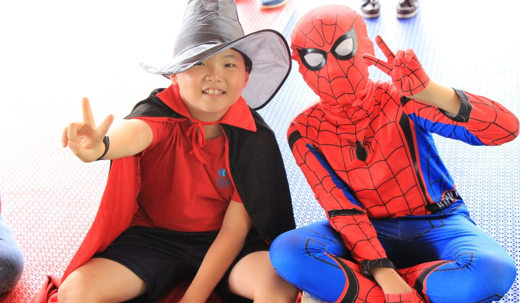 Canadian International School celebrates Halloween