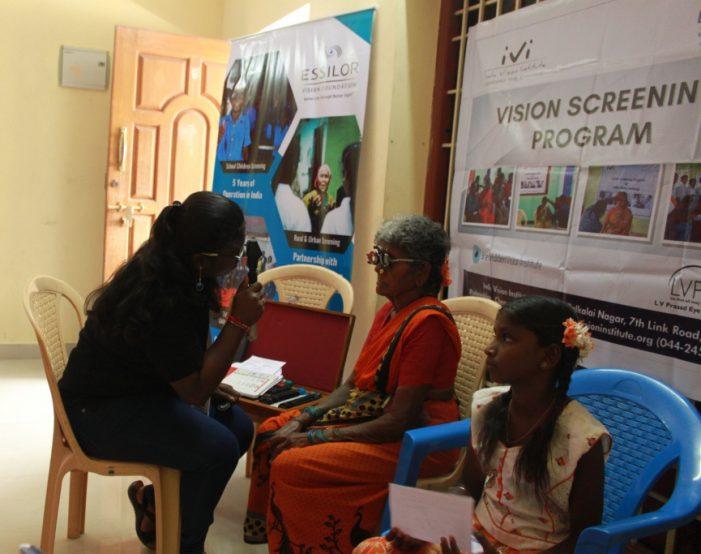 Essilor Vision Foundation & ARCOD NGO bring eye care to disadvantaged children