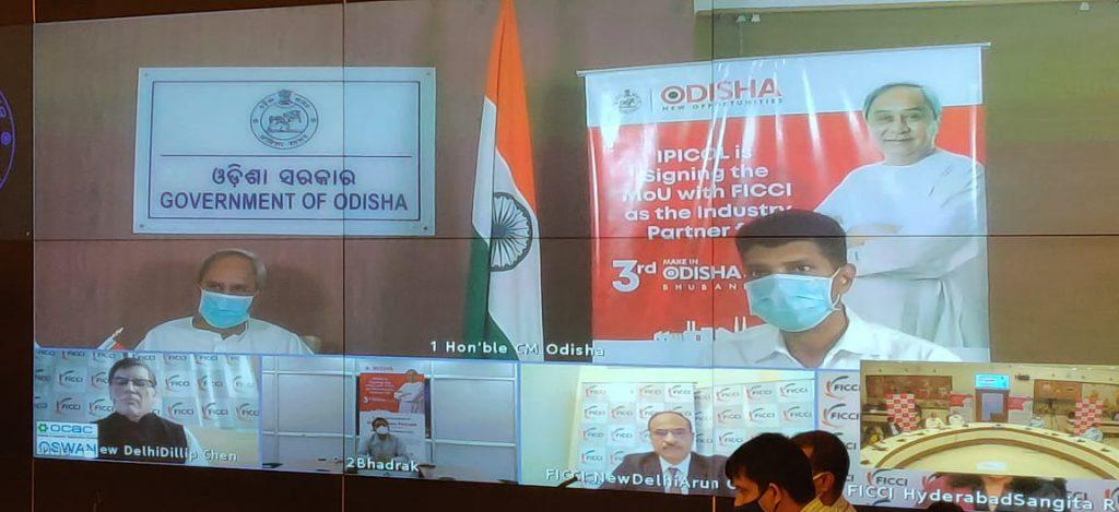 IPICOL-FICCI-MoU-Investment-Promotion-Make-in-Odisha