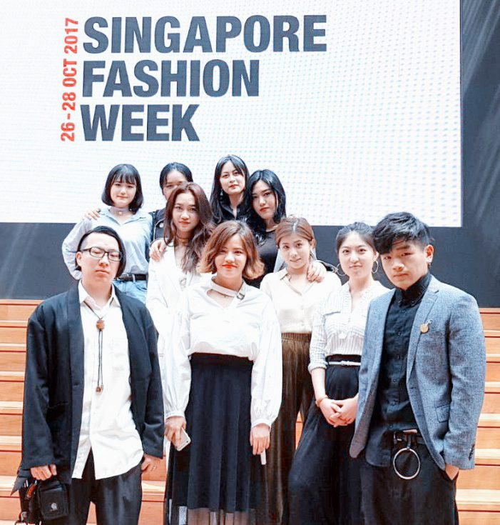 Student Designers Debut New Fashion Line, BLUMEX  and Largest Fashion Collection by MDIS  at Singapore Fashion Week 2017