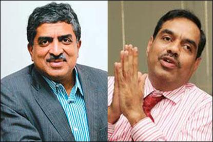 IT bigwigs betting big on Nilekani and Bala driving change