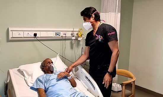 Margabanbhu 62 yr old with Dr. Sandeep Attawar