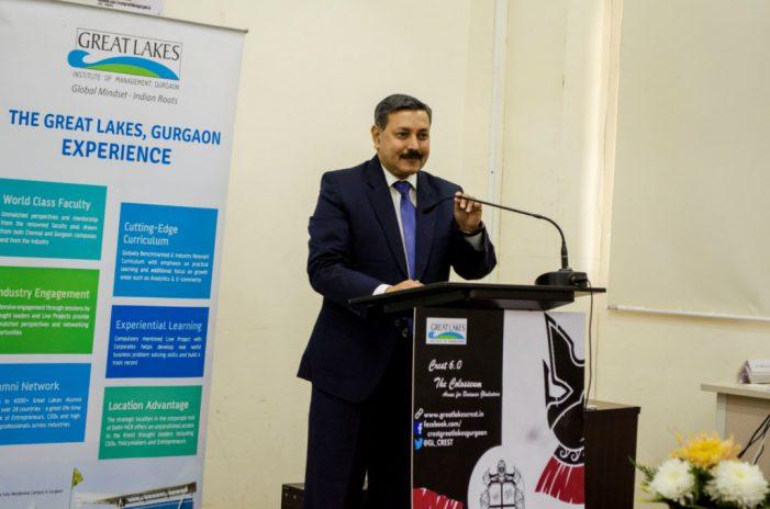 Great Lakes Institute of Management, Gurgaon Hosts its annual management fest 'Crest 6.0'
