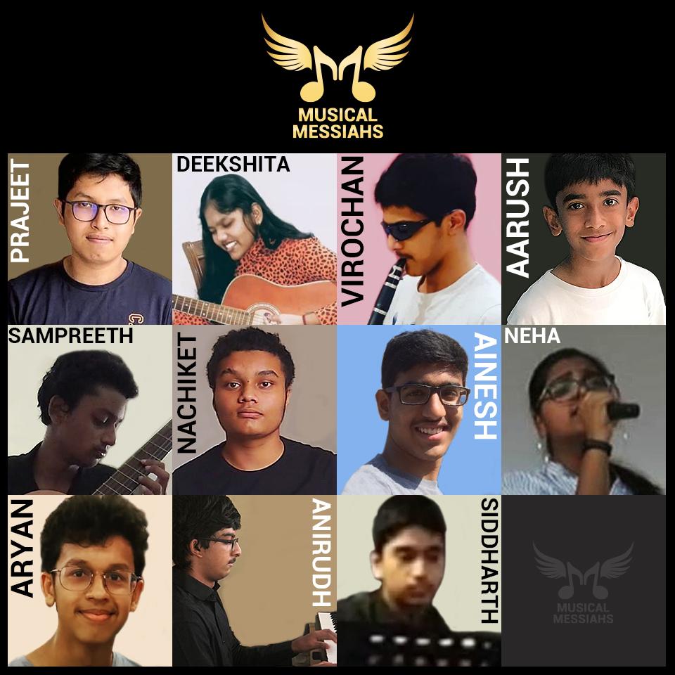 Musical Messiahs Team