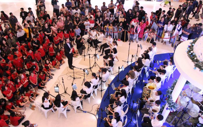 Canadian International School presents Winter Music Concert at RMZ Galleria Mall as part of Christmas celebrations
