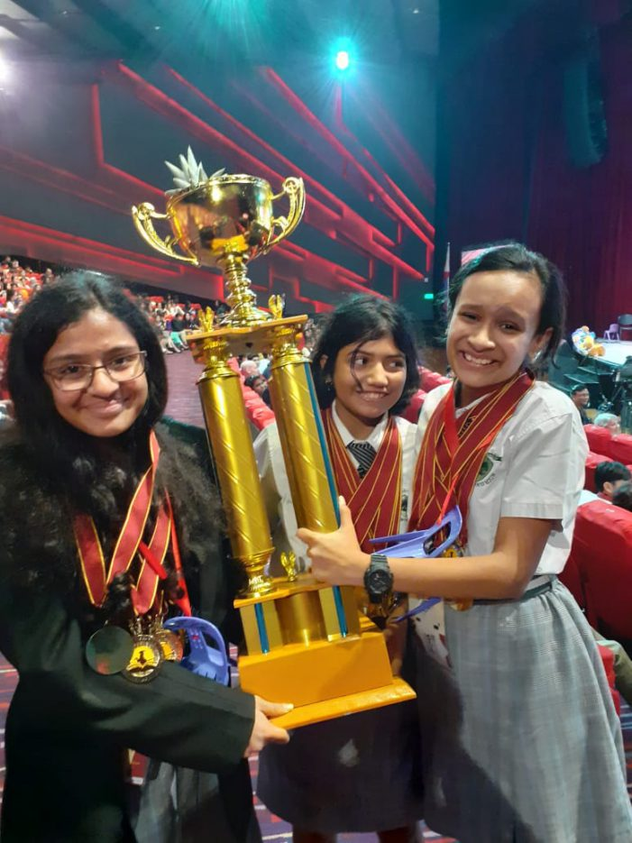 Greenwood High International School outshines others in Global Round of The World Scholar's Cup (WSC) held at Manila, Philippines
