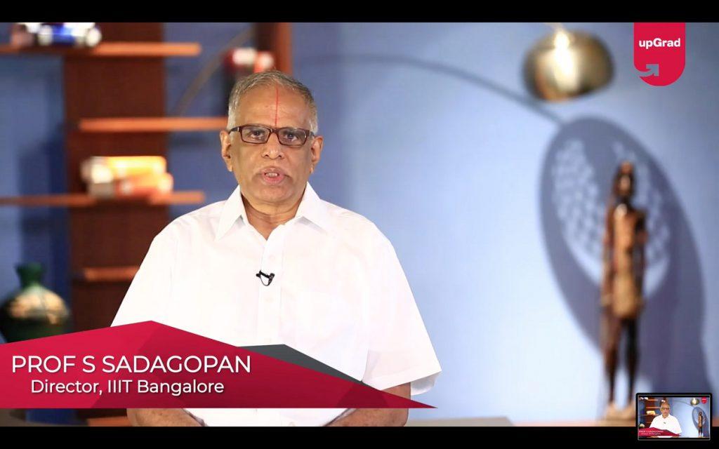 Professor S. Sadagopan Director, IIIT Bangalore