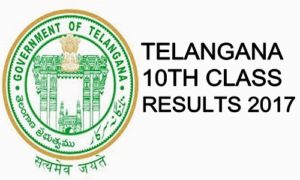 SSC results Telangana 2017 declared
