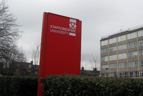 UK's Staffordshire University announces 30 funded research studentships