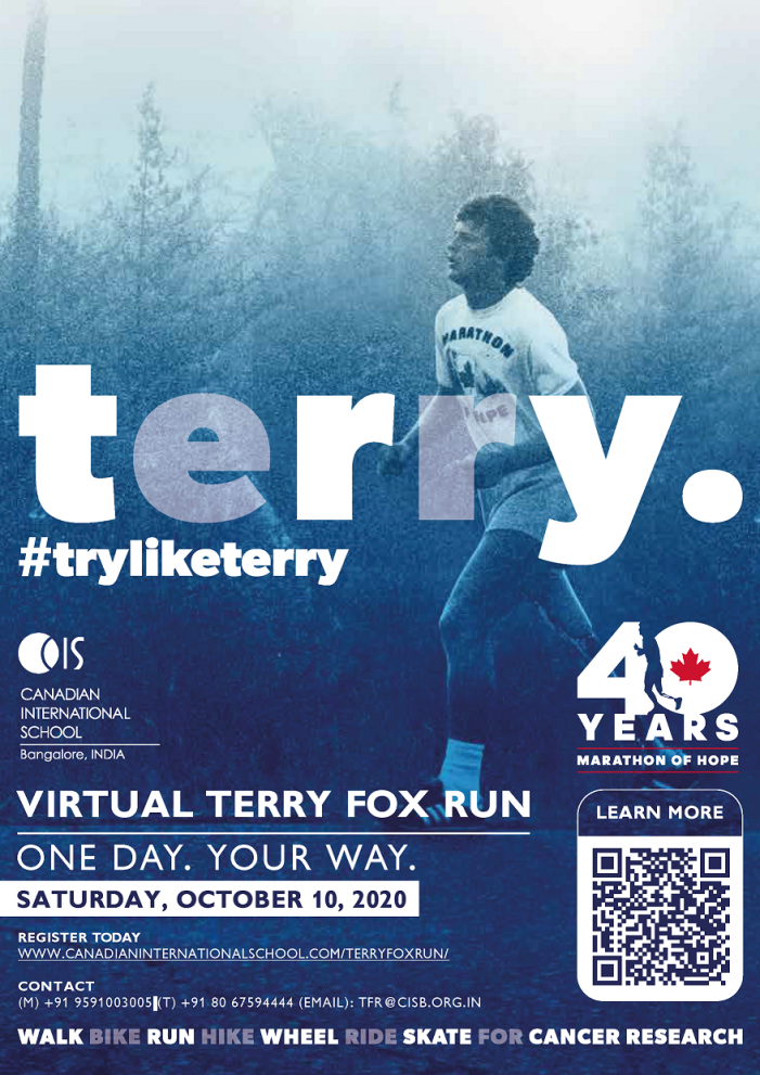 Run Virtually For A Cause: 'The Terry Fox Run' For Cancer Research