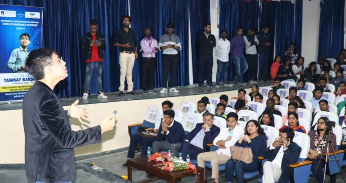Sharda University organised a 'Tech Talk' with Tanmay Bakshi
