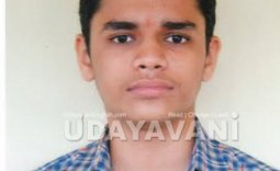 Vishvajith Prakash Hegde from Sirsi Lions English High School tops in SSLC exam