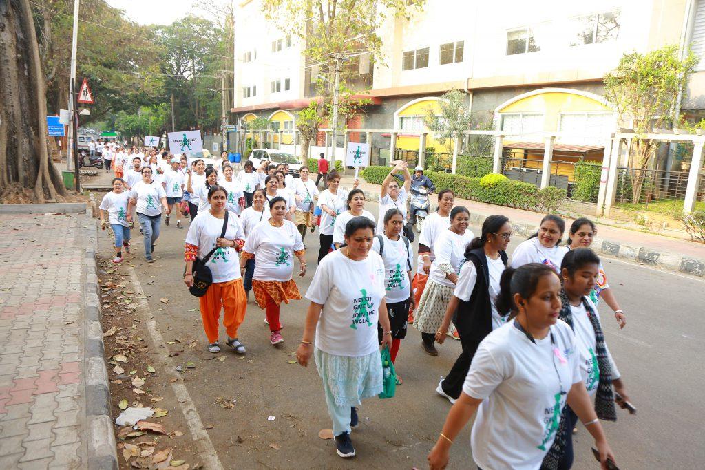 'Walk Against Cancer' marathon