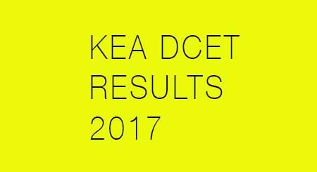 Karnataka DCET 2017 results declared