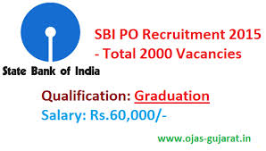 2,000 P.O. recruitment by SBI