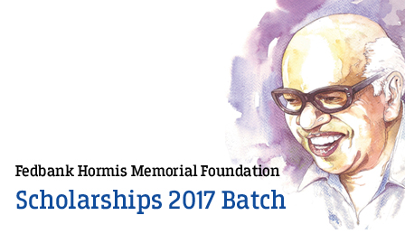 Applications Invited for Federal Bank Hormis Memorial Scholarship