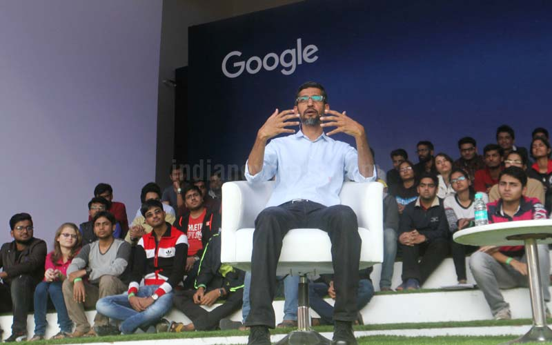 3500 IITians turned up to listen to their alumnus, Google CEO Sundar Pichai.