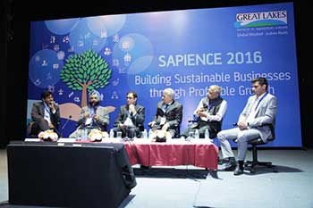 Great Lakes Institute of Management, Gurgaon hosts its Annual Management Conclave – 'SAPIENCE – 2016'