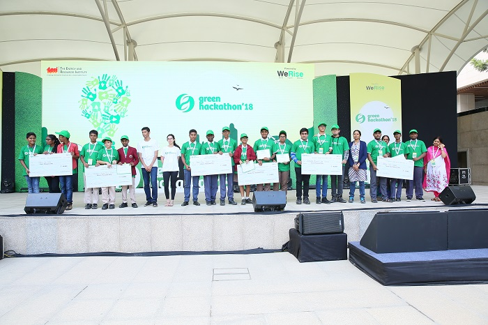 Students from Over 100 Schools in Bangalore Showcase Sustainable Solutions at Green Hackathon