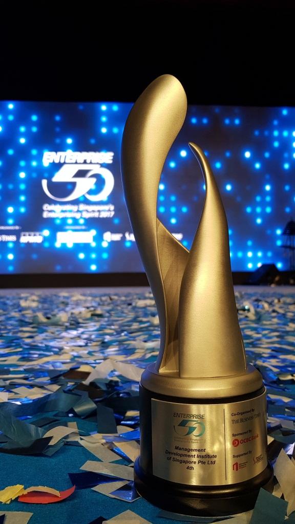 MDIS wins Enterprise 50 Awards