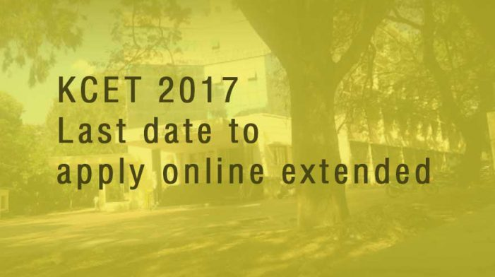 Last date for KCET online applications extended