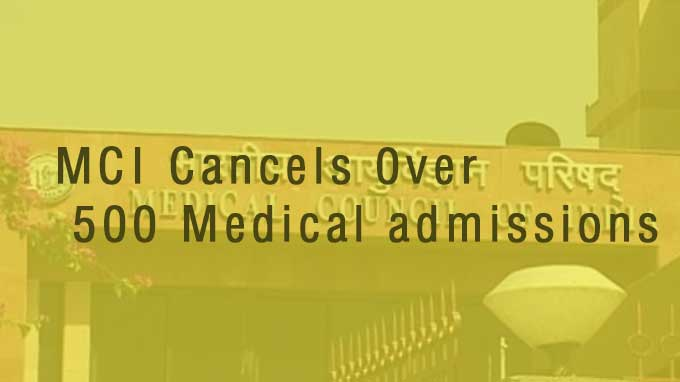 Over 500 medical students admission cancelled by MCI, asked to re-write NEET
