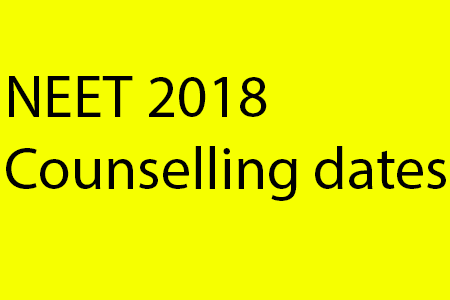 NEET 2018: Schedule for counselling released at mcc.nic.in