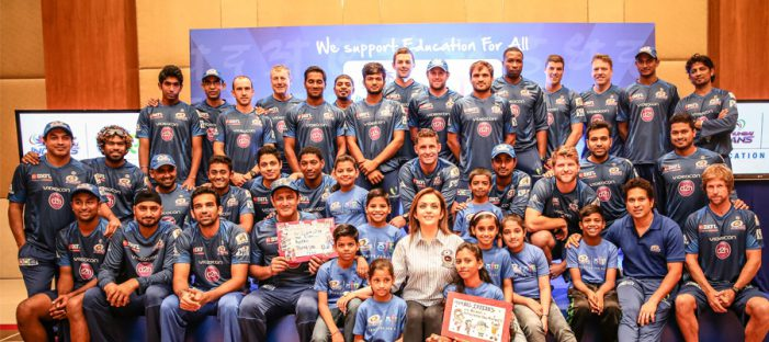 Mumbai Indians invites 9 underprivileged children to Dubai as part of 'Education for All' initiative
