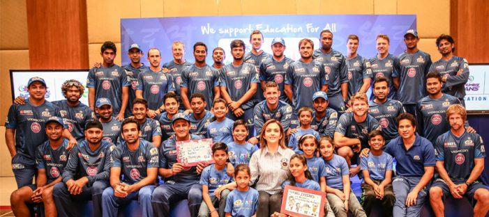 Mumbai Indians invites 9 underprivileged children to Dubai as part of 'Education for All' initiative