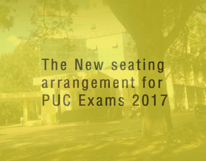New random seating arrangements for PU students taking the exam this year