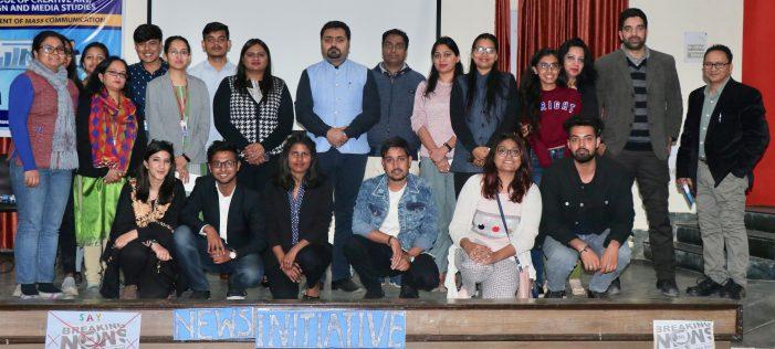 Workshop on Verification of the news by Google organized in Sharda University