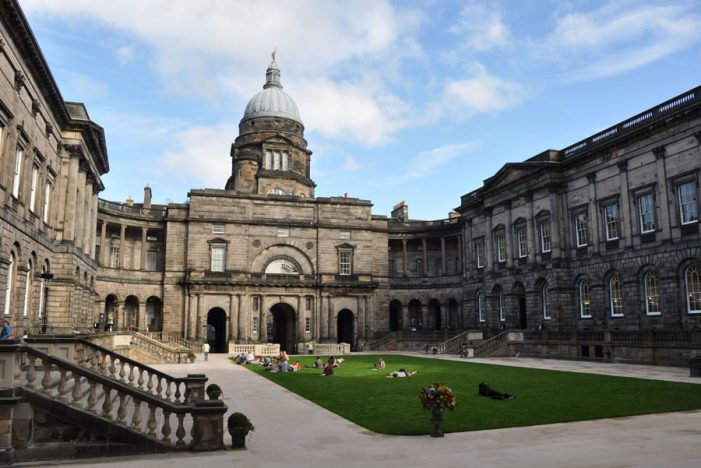 University of Edinburgh's sending 40 academics to establish partnerships with Institutes in India