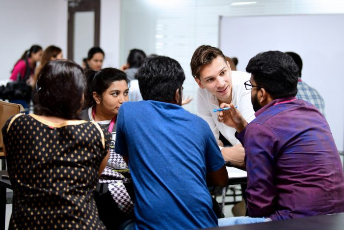 JD Institute of Fashion Technology, Bangalore conducts a workshop on Augmented Reality (AR) with Czech Graphic Designer Vitek Skop